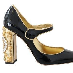 PRICE FIRM👠Dolce & Gabbana Patent Clock-Heel Pump